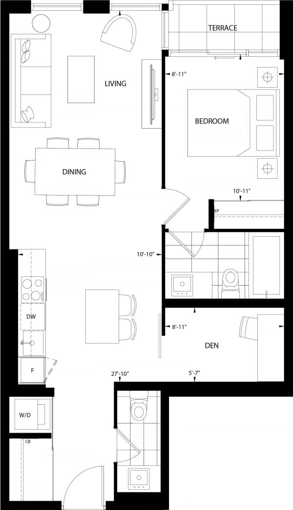 Muirfield Floor Plan