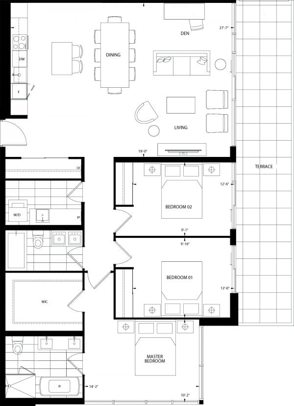 Pebble Beach Floor Plan