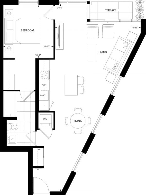St. George's Floor Plan
