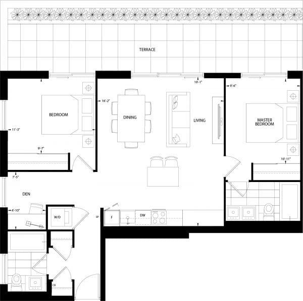 Sand Hills Floor Plan
