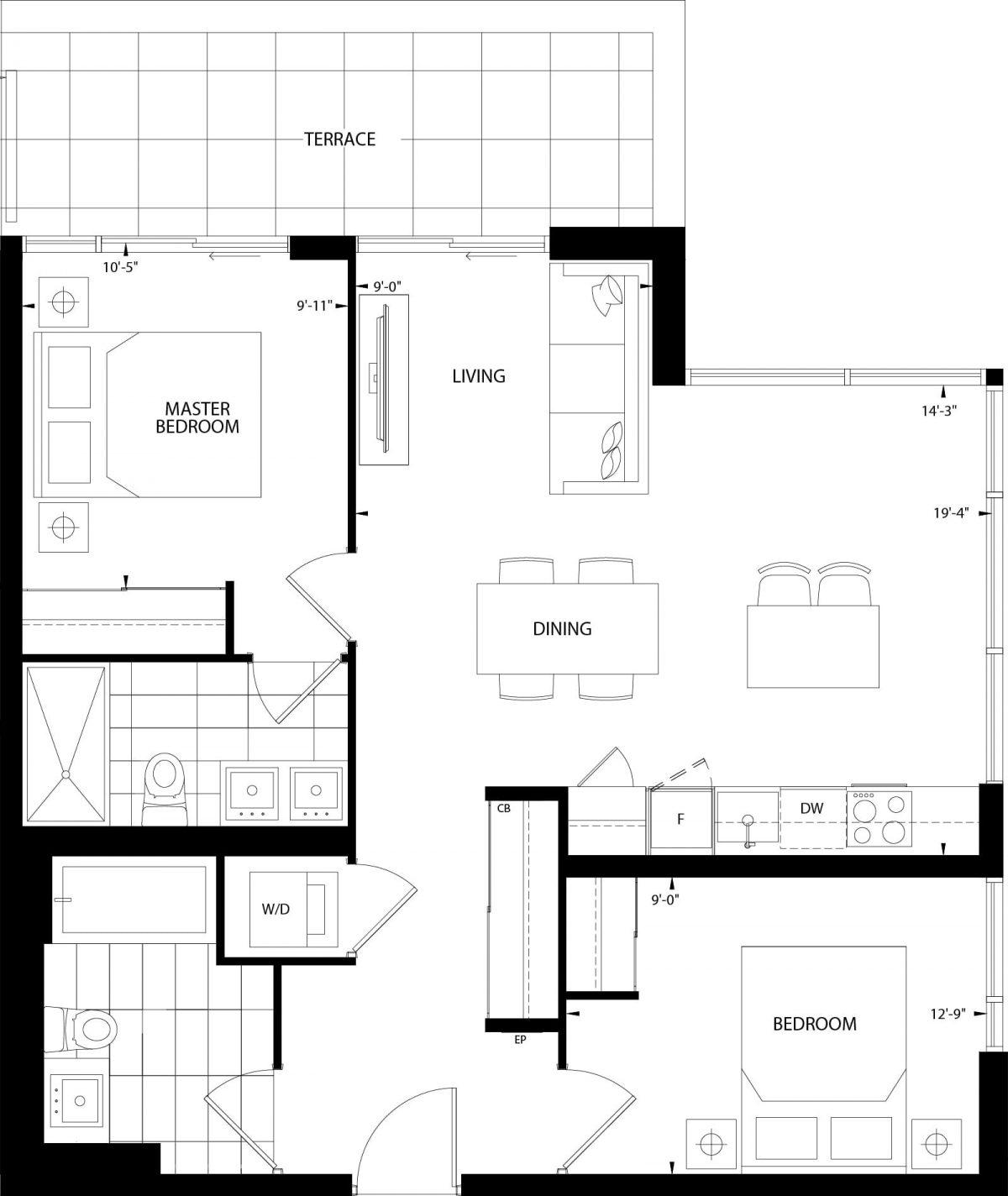 Valderrama Floor Plan